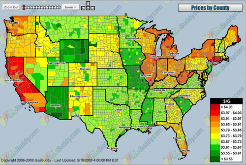 US Gas Temperature Map The Crimson Window - Temperature map of us
